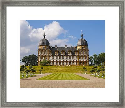 Bamberg Castle - Germany Framed Print by Gary Grayson