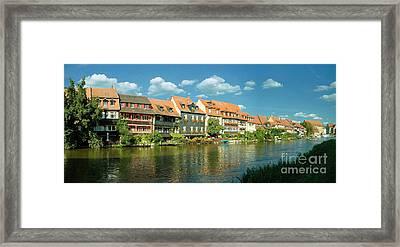 Bamberg Little Venice 1 Framed Print