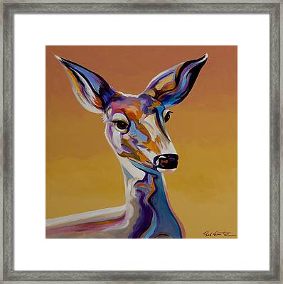 Bambi Framed Print by Bob Coonts