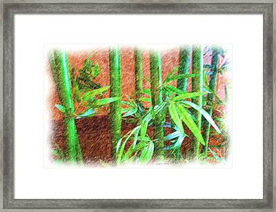Bamboo #1 Framed Print by Luther Fine Art