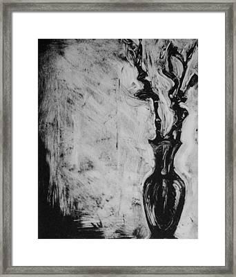 Bamboo Framed Print by Cynthia Harvey