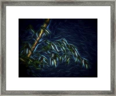 Framed Print featuring the digital art Bamboo Wind 2 by William Horden
