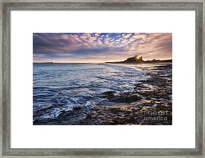 Bamburgh Castle Framed Print by Rod McLean