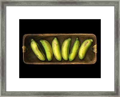 Banana Boat Framed Print by Christian Slanec