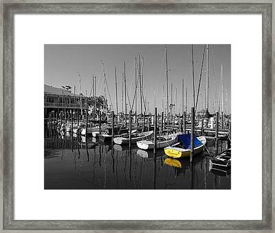 Banana Boat Framed Print by Michael Thomas