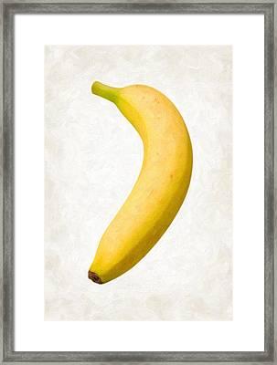 Banana Framed Print by Danny Smythe