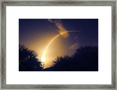 Banana Launch Framed Print