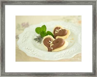 Banana Love Framed Print by Iris Richardson