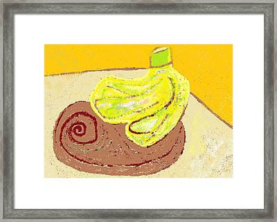 Bananas From Paphos 3 Framed Print by Anita Dale Livaditis