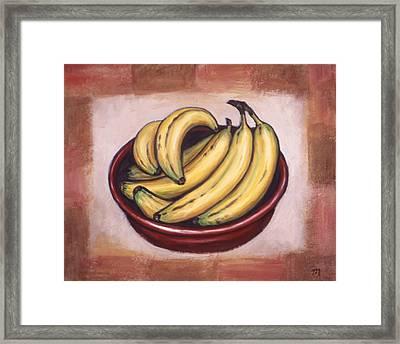 Bananas Framed Print by Linda Mears