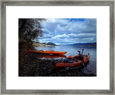 Banburrygreen Framed Print by Guy Hoffman