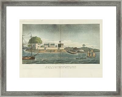 Bance Island Framed Print by British Library