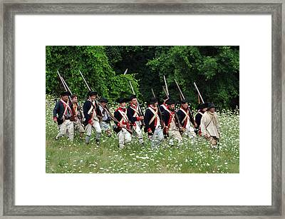 Band Of Brothers Framed Print by William Coffey