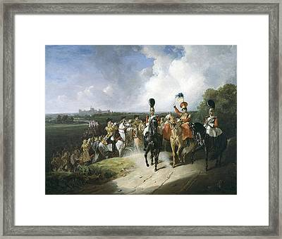 Band Of The Second Regiment Of Life Framed Print
