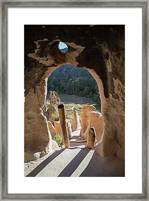 Bandelier National Monument Framed Print by Jim West