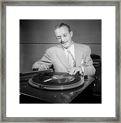 Bandleader Tommy Dorsey 1947 Framed Print by Mountain Dreams