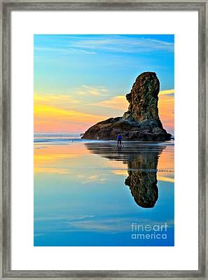 Bandon Blue Photographer Framed Print by Adam Jewell