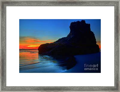 Bandon Boot Framed Print by Adam Jewell