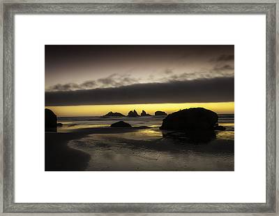 Bandon By The Sea Framed Print