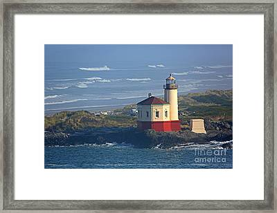 Bandon Lighthouse Framed Print