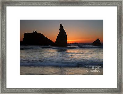 Bandon  Framed Print by Mike Dawson