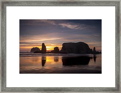 Bandon Reflections Framed Print