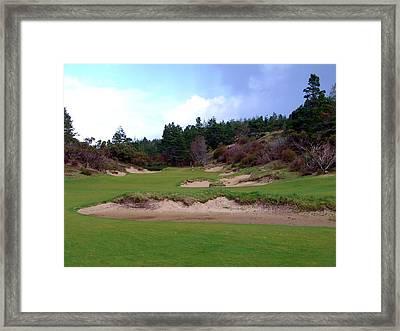 Bandon Trails Hole #15 Framed Print