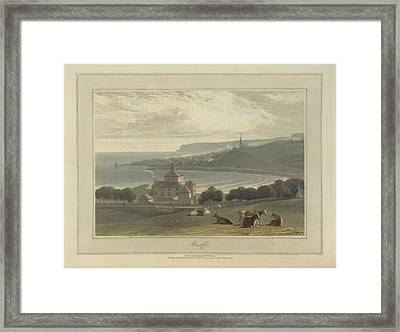 Banff City And Port Framed Print by British Library