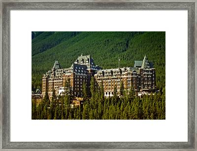 Banff Springs Hotel Framed Print