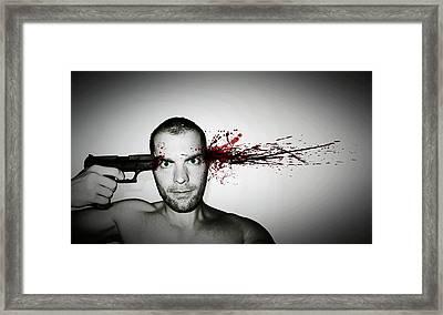 Bang... Framed Print by Nicklas Gustafsson