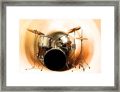 Bang On The Drum All Day Framed Print by Bill Cannon