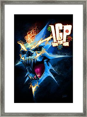 Bang Pow Boom Framed Print by Tom Wood