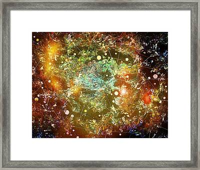 Bang Framed Print by Scott Kingery