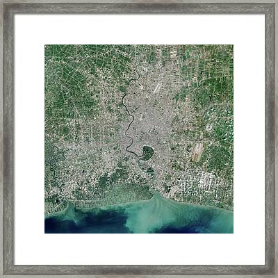 Bangkok Framed Print by Nasa
