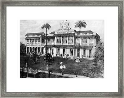 Bangkok Oriental Hotel Framed Print
