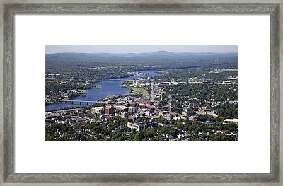 Bangor, Maine Framed Print by Dave Cleaveland