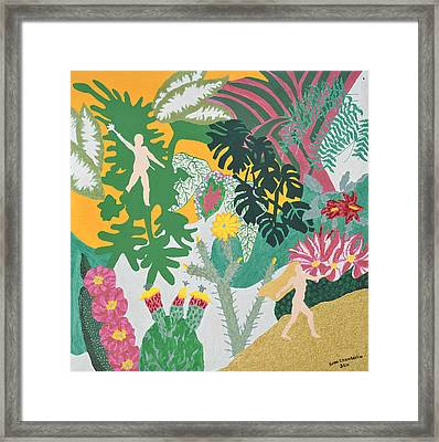 Framed Print featuring the painting Banished by Erika Chamberlin