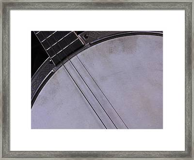 Banjo Abstract Framed Print by Kay Sparks
