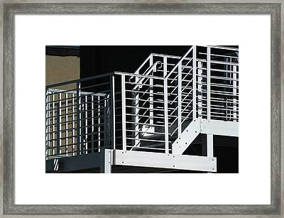 Bank Escape Framed Print by Joseph Yarbrough