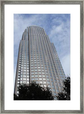 Framed Print featuring the photograph Bank Of America by B Wayne Mullins