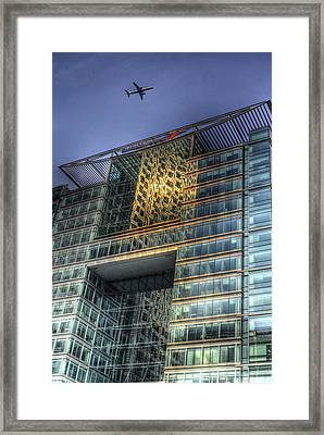 Bank Of America London Framed Print by David Pyatt