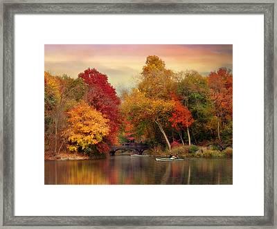 Bank Rock Bay Framed Print by Jessica Jenney