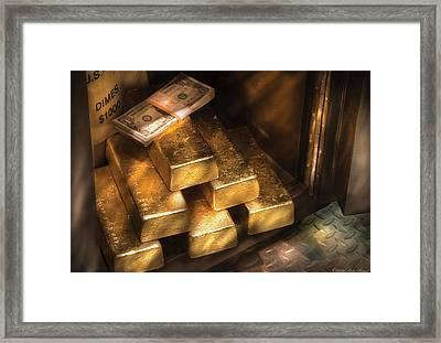 Banker - My Precious  Framed Print