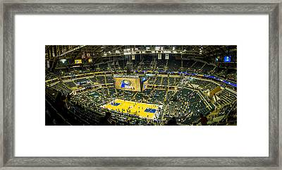 Bankers Life Fieldhouse - Home Of The Indiana Pacers Framed Print