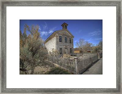Bannack Lodge # 16 Framed Print