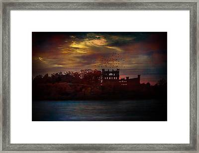 Bannerman Castle Ruins Framed Print
