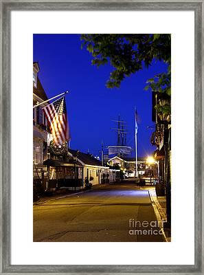 Bannister's Wharf I Framed Print