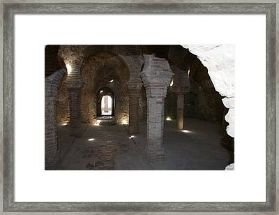 Banos Arabes Framed Print by Christian Zesewitz