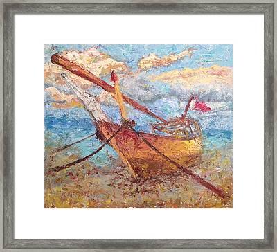 Banoush II Framed Print