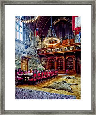 Banquet Hall Of The Biltmore Framed Print